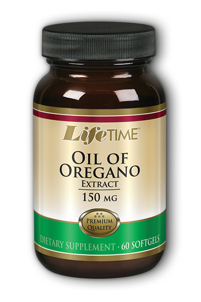 Life Time: Oil of Oregano 150mg 60 Softgel