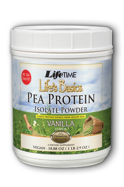 Life Time: Life's Basics Pea Protein Vanilla 1.16 lbs Pwd