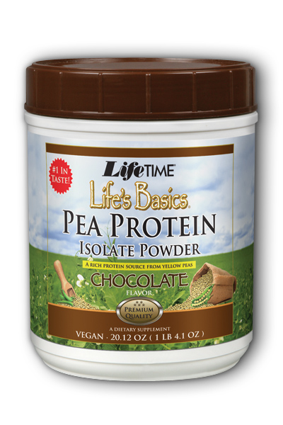 Life's Basics Pea Protein Chocolate 1.2 lbs Pwd from Life Time