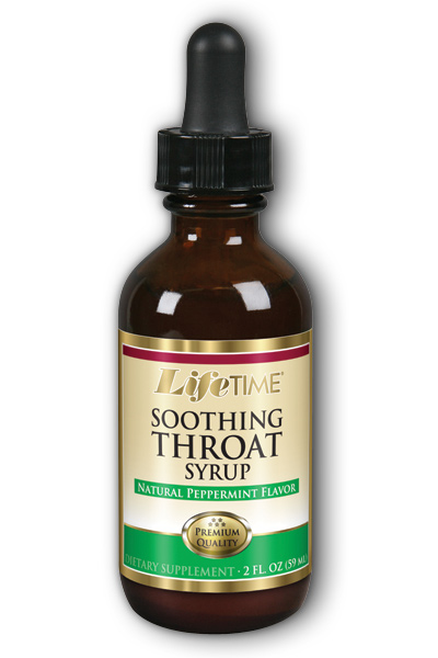 LifeTime: Soothing Throat (Peppermint) 2 oz Liq