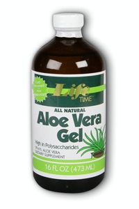 Life Time: Aloe Vera Gel Natural 16 oz