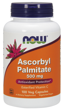 NOW: ASCORBYL PALMITATE 500MG   100VCAPS 100 VCAPS