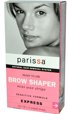 PARISSA LABORATORIES: Wax Strip Brow Shapers 32 ct