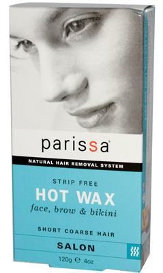 Strip Free Hot Wax (Face Bikini and Brow)