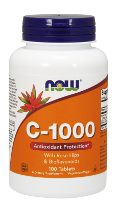 C-1000 RH  NO TR  100 TABS 100 tabs from NOW