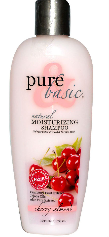PURE and BASIC: Conditioner Moisturizing Shampoo Cherry Almond 12 oz
