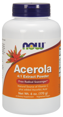 NOW: ACEROLA POWDER  6 OZ 6 oz