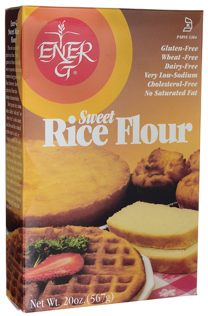 Buy Sweet Rice Flour 20 oz from Ener-g Foods Gluten Free