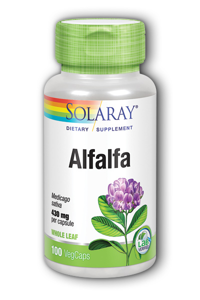 Solaray: Alfalfa 100ct 1000mg