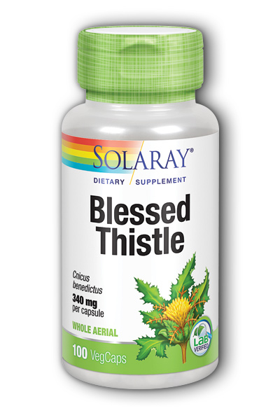 Blessed Thistle, 100ct 340mg