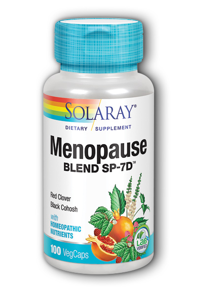 Solaray: Menopause Blend SP-7D 100ct