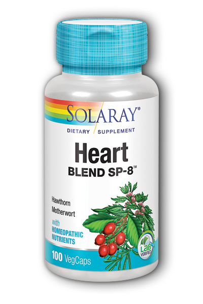 Solaray: Heart Blend SP-8 100ct