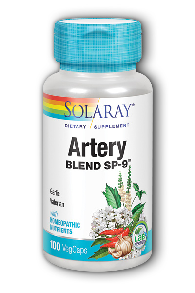 Solaray: Artery Blend SP-9 100ct