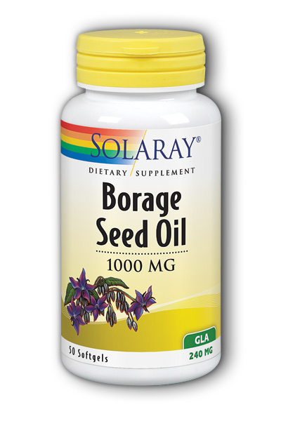 Solaray: Borage Seed Oil GLA 50ct 240mg