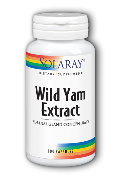 Mexican Yam Extract and Adrenal Gland Concentrate, 100ct 500mg