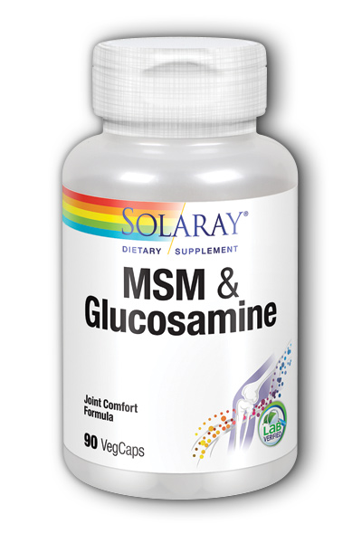 Solaray: MSM and Glucosamine 90ct
