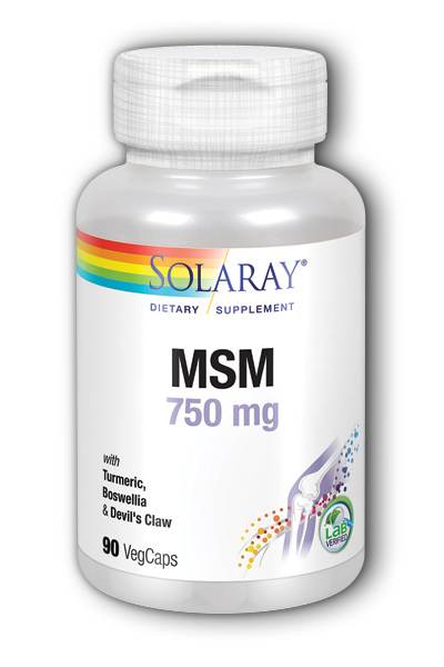 Solaray: MSM 750mg 90ct