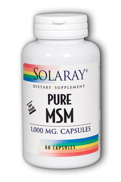 Solaray: Pure MSM 60ct 1000mg
