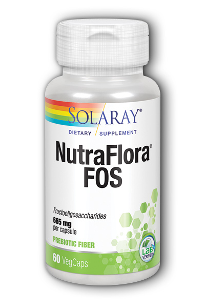 Solaray: NutraFlora FOS 60ct 770mg