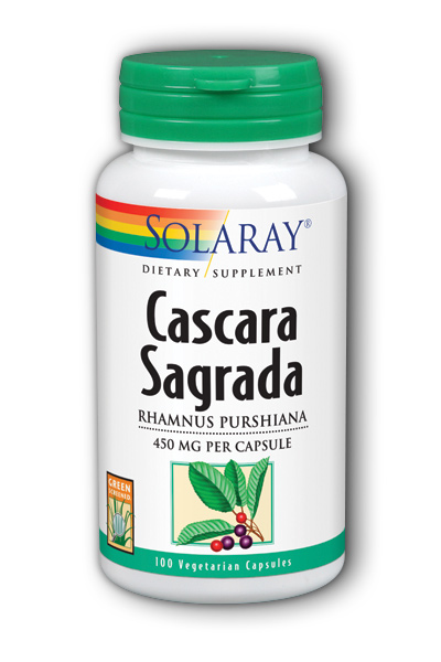 Cascara Sagrada, 100ct 450mg