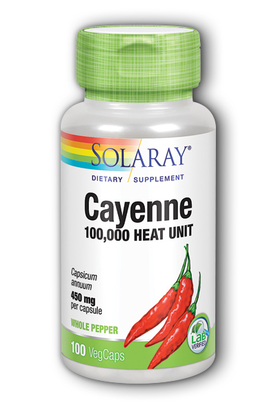 Cayenne, 100ct 450mg