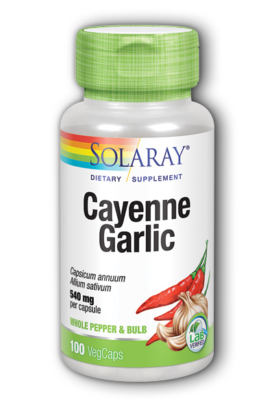 Cayenne With Garlic, 100ct 540mg
