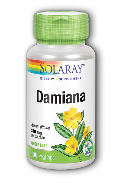 Damiana Leaves, 100ct 370mg