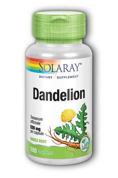 Dandelion Root, 100ct 520mg