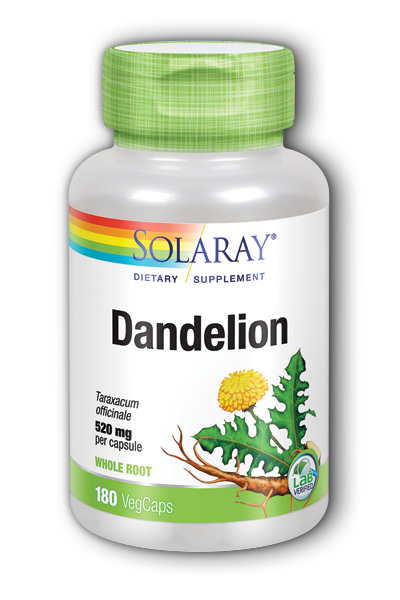 Dandelion Root, 180ct 520mg