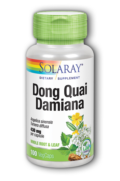 Dong Quai with Damiana, 100ct 430mg