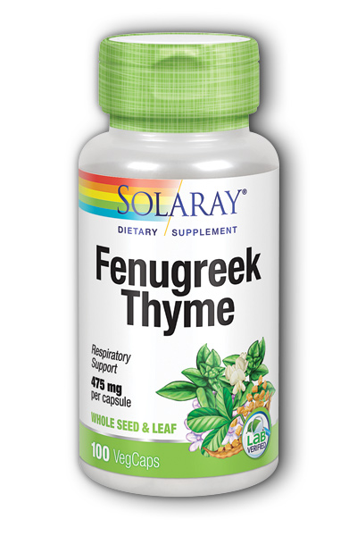 Fenugreek and Thyme, 100ct 475mg