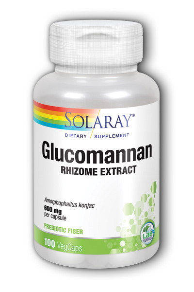 Solaray: Glucomannan 100ct 600mg
