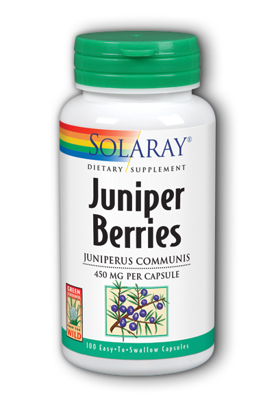 Juniper Berries, 100ct 450mg