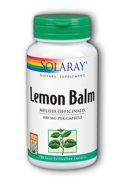 Lemon Balm Herb, 100ct 395mg