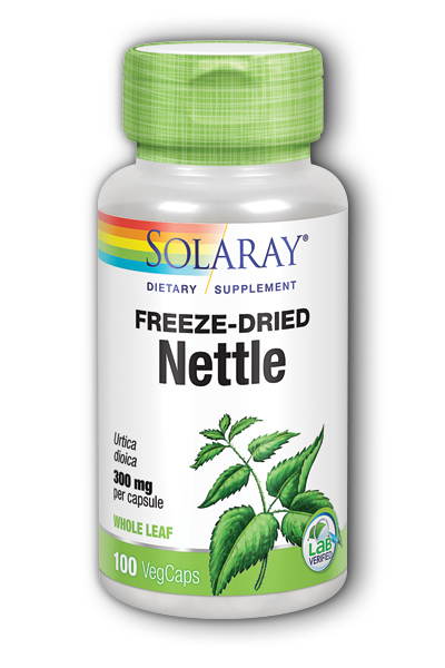 Freeze-Dried Nettle Leaf, 100ct 300mg