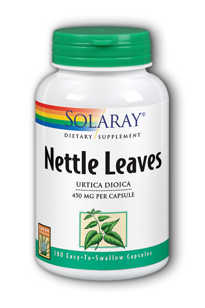 Nettle Leaves, 180ct 450mg