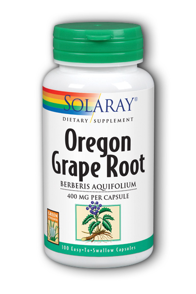 Oregon Grape Root, 100ct 400mg