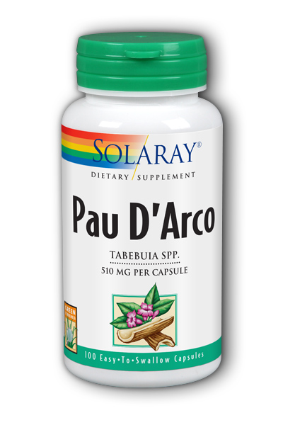 Pau D Arco Inner Bark, 100ct 510mg