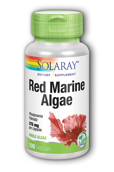 Solaray: Red Marine Algae 100ct 375mg