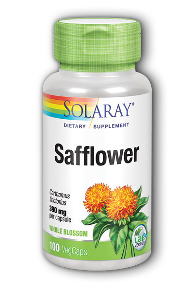 Safflower, 100ct 390mg
