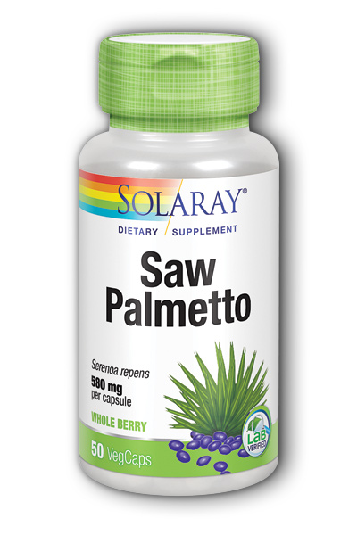 Saw Palmetto Berries, 50ct 580mg