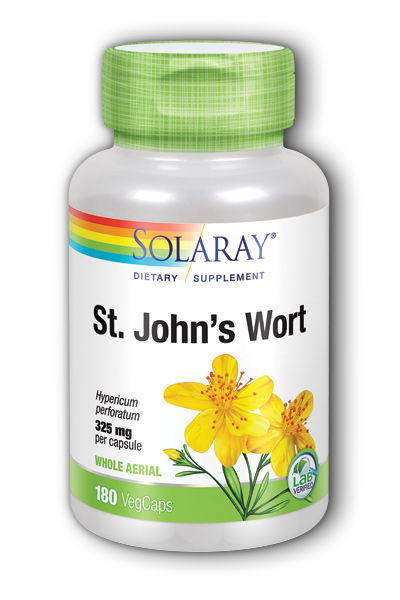 Solaray: St. John's Wort 180ct 325mg