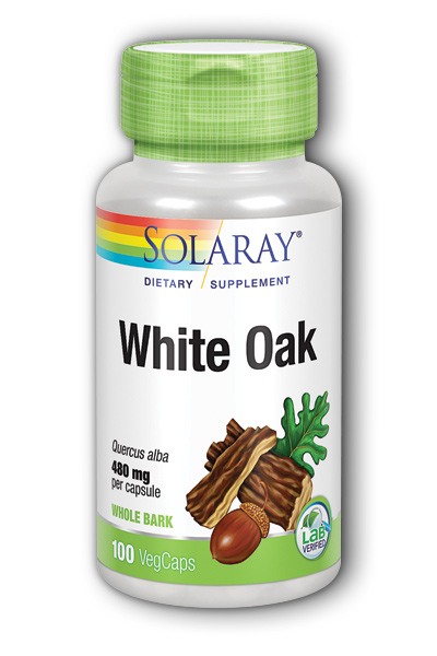 White Oak Bark, 100ct 480mg