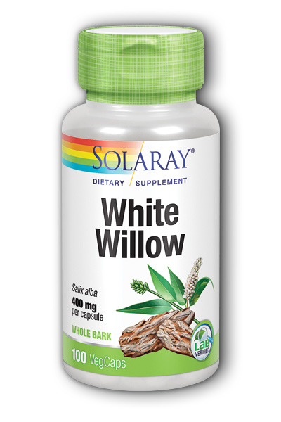 White Willow Bark, 100ct 400mg