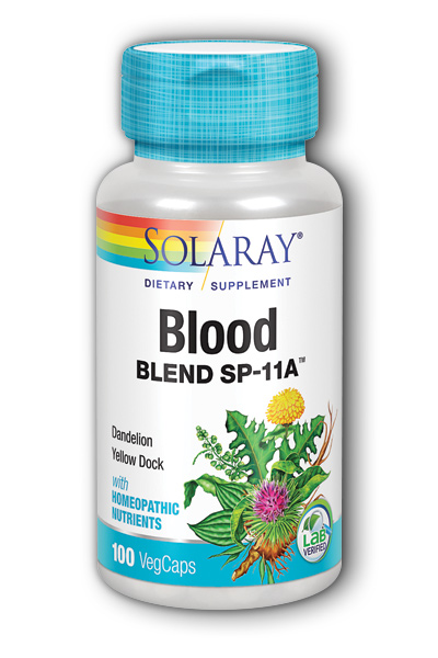 Solaray: Blood Blend SP-11A 100ct