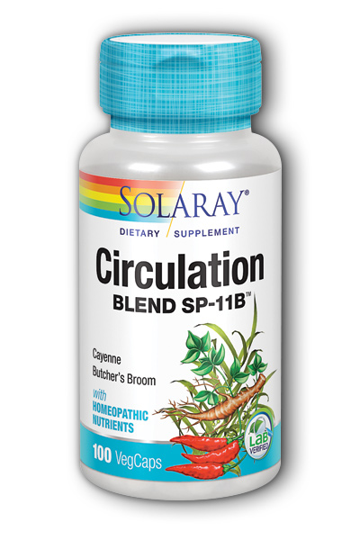 Solaray: Circulation Blend SP-11B 100ct