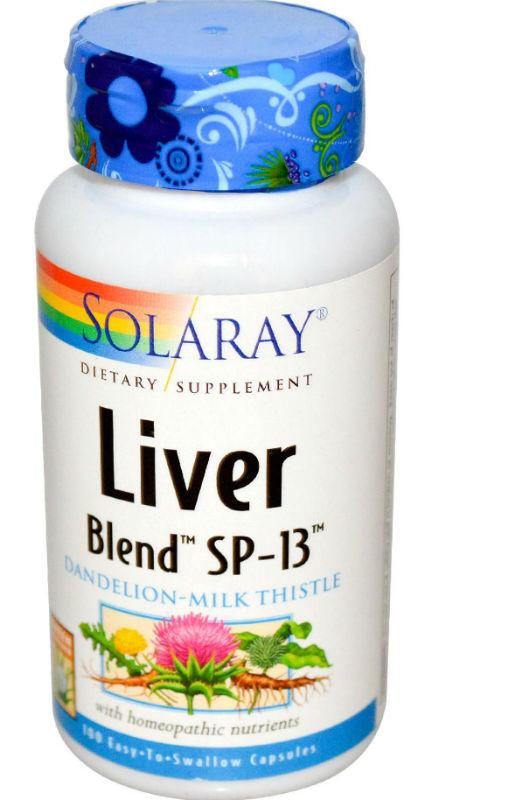 Solaray: Liver Blend SP-13 100ct