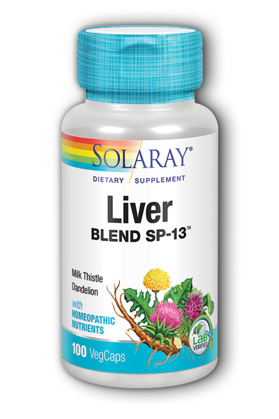 Solaray: Liver Blend SP-13 100ct