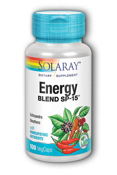 Solaray: Energy Blend SP-15 100ct