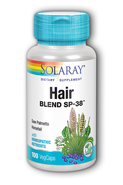 Solaray: Hair Blend SP-38 100ct